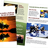 Sustainable Living Academy - Literature Program - Brochures - Charity - Non-Profit